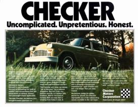1974 Checker