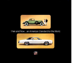 1975 Cadillac Then & Now Mailer