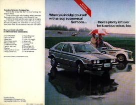 1976 VW Scirocco Accessories