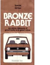 1978 VW Bronze Rabbit