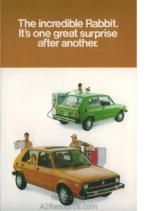 1978 VW Rabbit Foldout