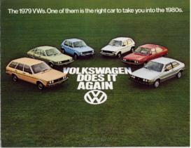1979 VW Range