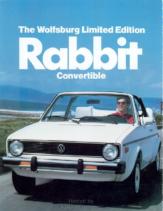 1980 VW Rabbit Convertible Wolfsburg Edition