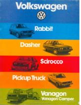 1980 VW Range
