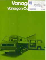 1980 VW Vanagon V1