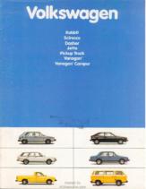 1981 VW Range