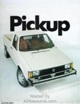 1982 VW Pickup