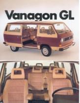 1982 VW Vanagon GL