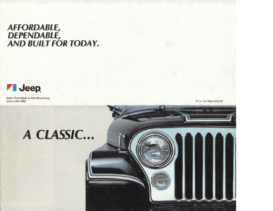 1983 Jeep Mailer