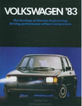 1983 VW Range