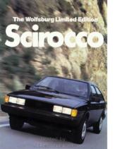1983 VW Scirocco Wolfsburg Edition