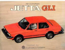 1984 VW Jetta GLI