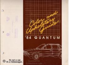 1984 VW Quantum Colors