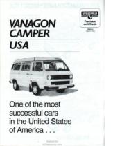 1984 VW Vanagon Westfalia