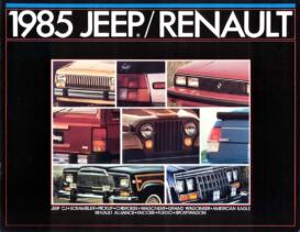1985 AMC-Renault Full Line