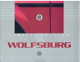 1985 VW Wolfsburg Editions