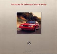 1986 VW Scirocco 16v