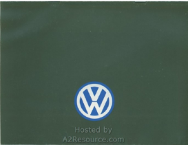 1987 VW Range