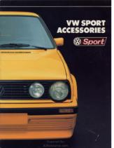 1988 VW Sport Accessories