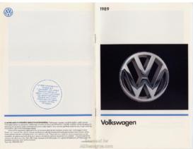 1989 VW Range