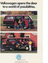 1989 VW Vanagon Disability