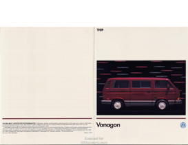 1989 VW Vanagon