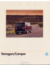 1990 VW 1990 Vanagon-Camper