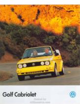 1990 VW Golf Cabriolet CN