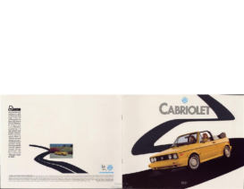 1991 VW Cabriolet