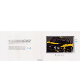 1992 VW Cabriolet