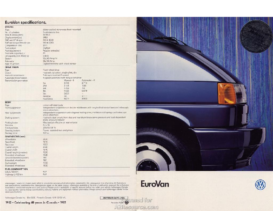 1992 VW EuroVan