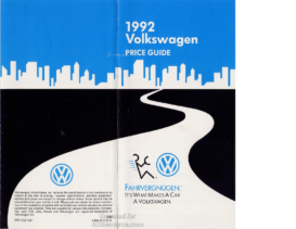 1992 VW Price Guide