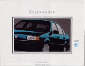 1992 VW Range