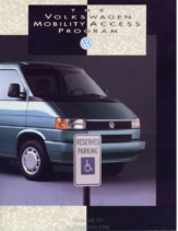 1993 VW Mobility Access
