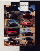 1993 VW Range