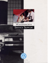 1993 VW Service & Support