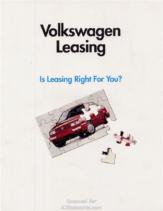 1994 VW Leasing