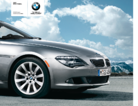 2009 BMW 6 Series Coupe-Convertible