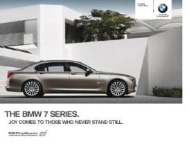 2011 BMW 7 Series Sedan