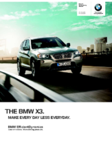 2012 BMW X3 Sports Activity Vehicle