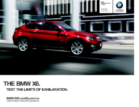 2012 BMW X6 Sports Activity Coupe
