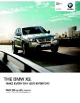 2013 BMW X3 Sports Activity Vehicle
