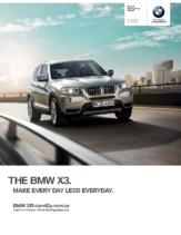 2014 BMW X3 Sports Activity Vehicle