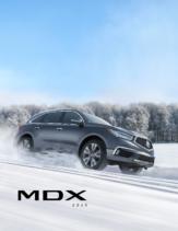 2020 Acura MDX Fact Sheet