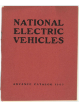 1903 National Electric Vehicles