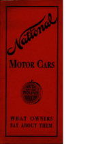 1907 National What Owners Say