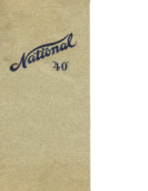 1911 National Series 40 Booklet