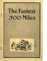 1912 National The Fastest 500 Miles