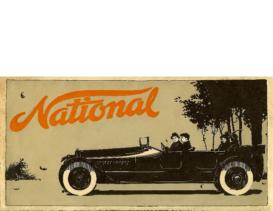1915 National Full Line