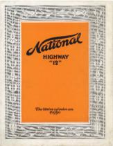 1916 NATIONAL Highway Twelve Foldout